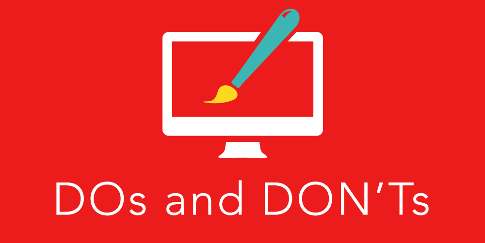 Web Design DOs & DON'Ts in 2015